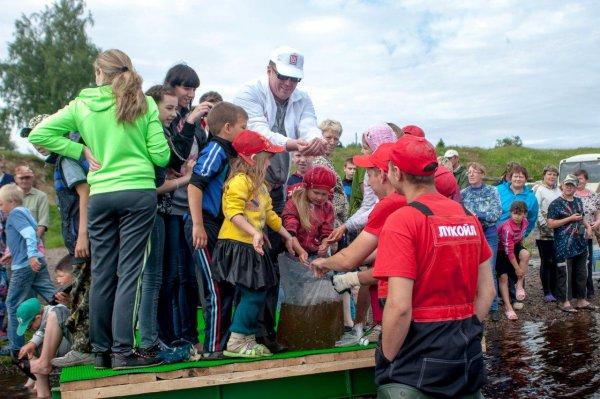 «ЛУКОЙЛ-Коми» заботится о биоресурсах