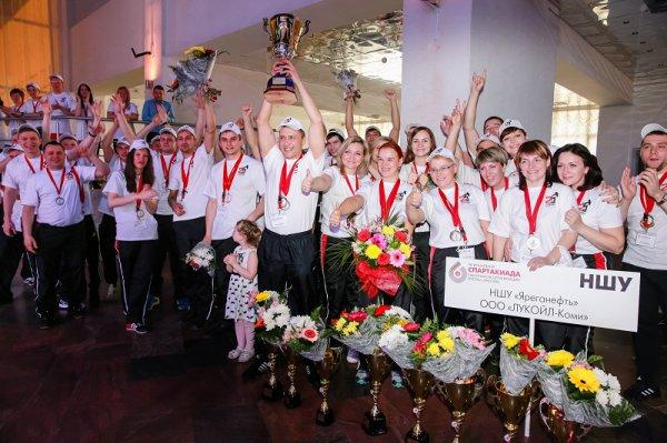 В Усинске наградили лучших лукойловских спортсменов Тимано-Печоры