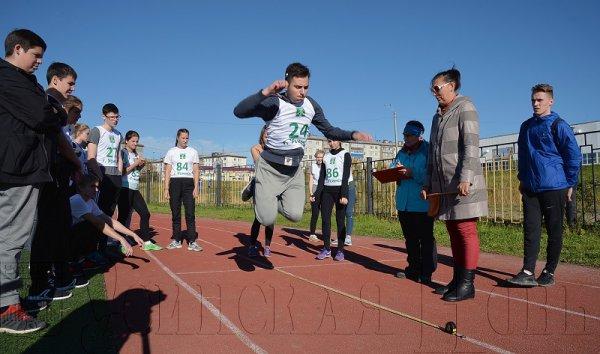 Спортивный фестиваль ГТО
