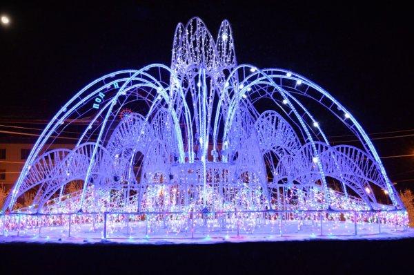 Усинский фонтан отправится в зимнюю спячку