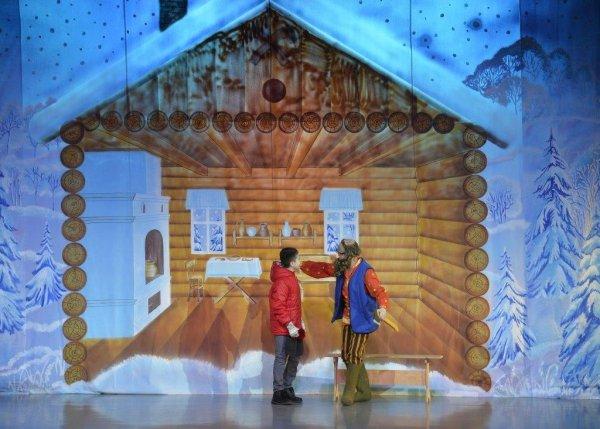 Зимняя сказка для сельских ребят