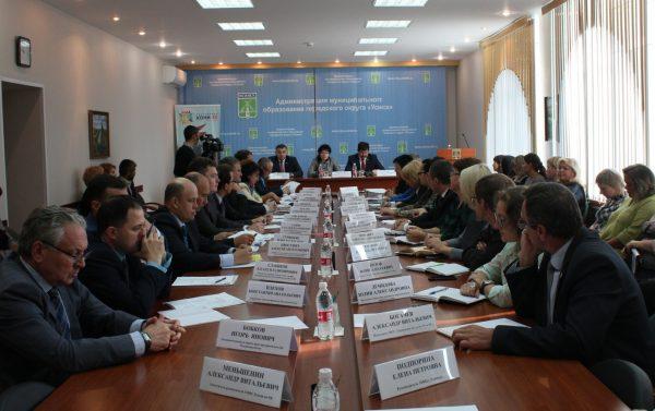 В Усинске с рабочим визитом кабинет министров Республики Коми
