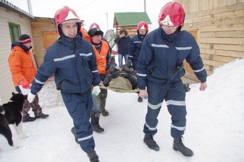 В Усинске прошел второй этап учений по ликвидации последствий весеннего половодья