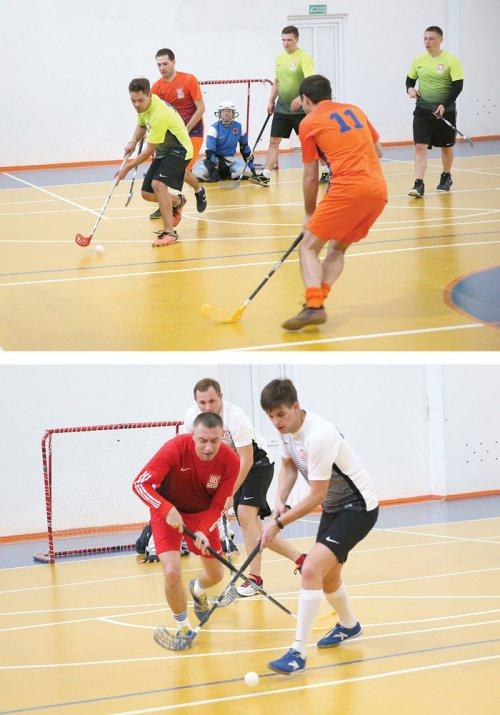 Хоккей в кроссовках