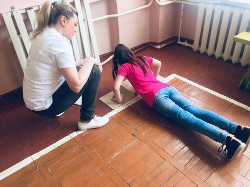 Усинские дети сдают ГТО