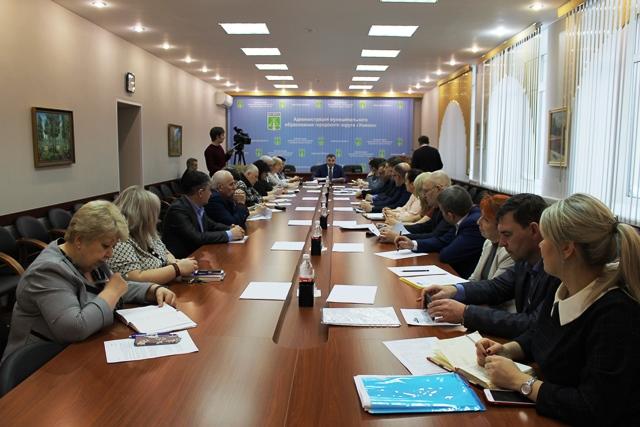 Состоялось заседание Штаба по обеспечению безаварийного прохождения осенне-зимнего периода 2019-2020 года