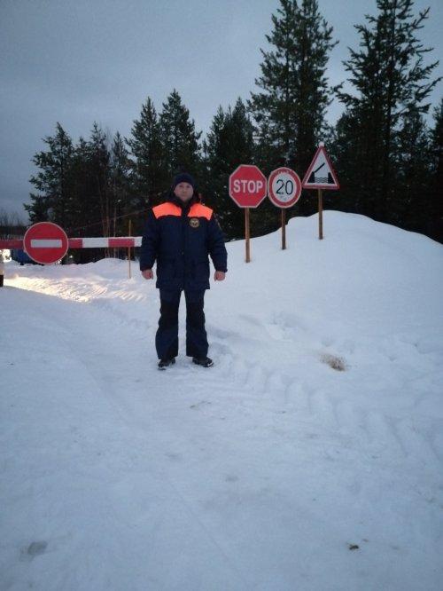 В Усинском районе к эксплуатации допущена автомобильная переправа