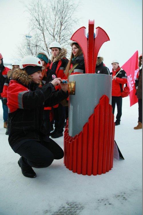Молодых работников ЛУКОЙЛ-Коми посвятили в нефтяники