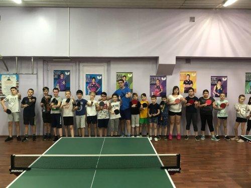 Воспитанники отделения «Настольный теннис» сдали нормы ГТО
