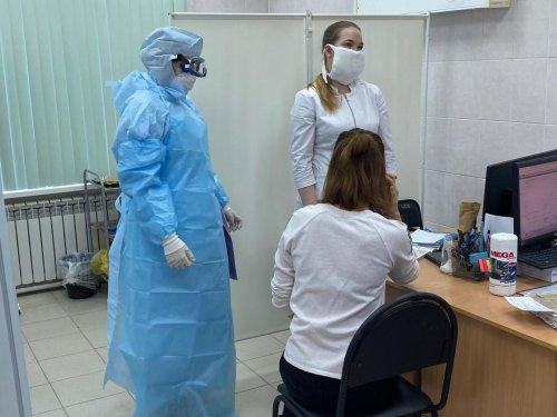 В Усинской ЦРБ прошли учения по коронавирусу