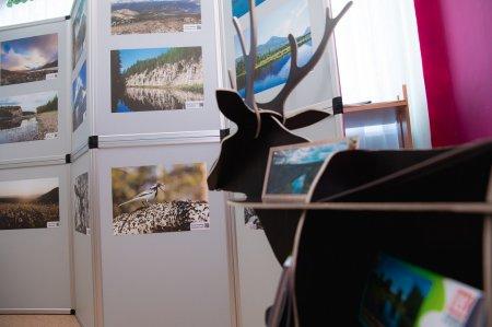 В Усинске представили фотографии заповедных мест Коми