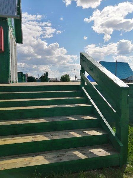 Завершены работы по ремонту входной группы дома культуры села Колва