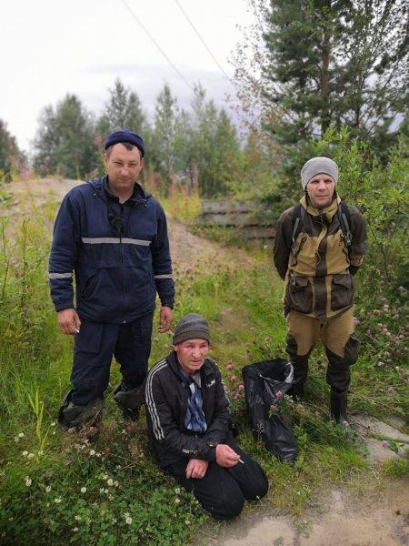 В Усинском районе подняли три вертолета и запустили локомотив, чтобы найти пропавшего в лесу пенсионера