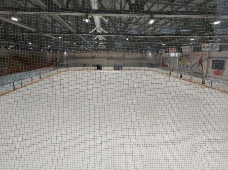 В Усинском ледовом дворце идет работа по улучшению