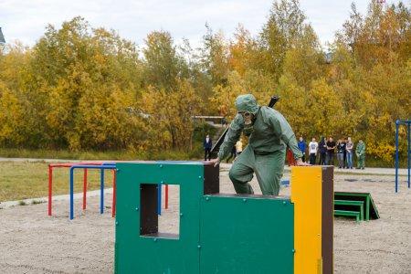 В Усинском политехническом техникуме открылся учебный полигон «Лаборатория Стрессоустойчивости»