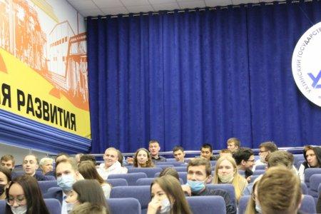 Общественники и полицейские Усинска пообщались со студентами филиала УГТУ на тему «Вместе против преступности!»