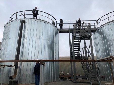 В Парме провели приемку новых баков для хранения воды