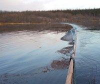В Усинске введен режим ЧС по факту разлива нефти
