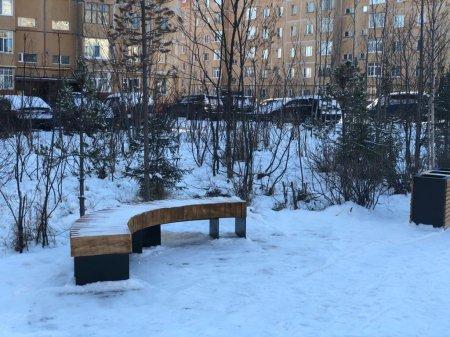 В Усинске завершено благоустройство Рябинового сквера