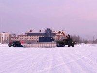 Скоро в Усинске появятся новогодние горки
