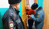 В Усинске провели совместный рейд МЧС и полиции