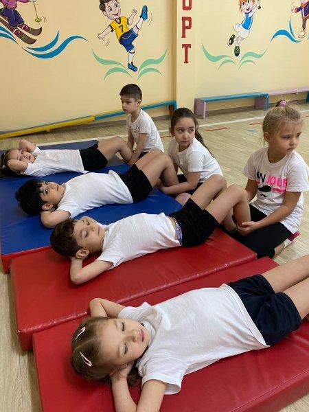 Усинские детсадовцы сдают нормы ГТО