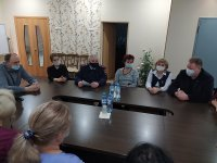 В Усинске в рамках акции «Нет грязному слову!» полицейские встретились с педагогами детского дома
