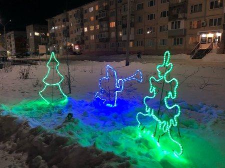 Мер Усинска Николай Такаев поделился новогодними фотографиями