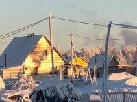 Снежные свесы с крыш и наледи в Усинске под контролем
