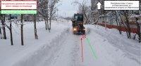 В Усинске снегоуборщик сбил пешехода