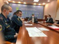 В Усинске введён режим функционирования «Особый противопожарный режим»