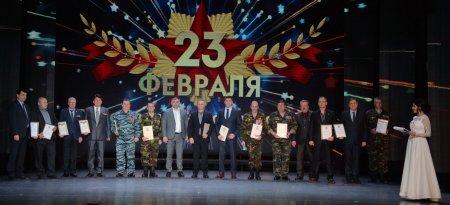 В Усинске отметили День защитников Отечества
