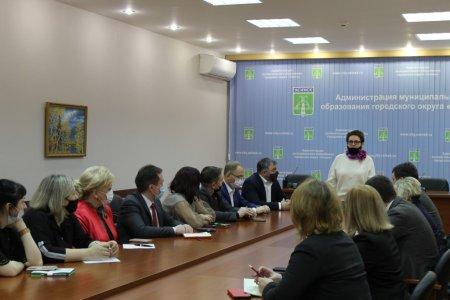 Депутат Государственной Думы Ольга Савастьянова сегодня с рабочим визитом в Усинске