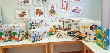 Дошколята из Нарьян-Мара учатся с помощью LEGO-технологий