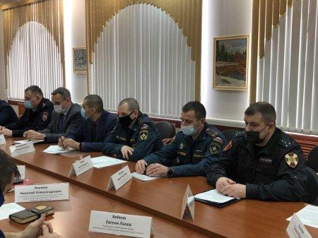 Плановое заседание антитеррористической комиссии состоялось в администрации Усинска