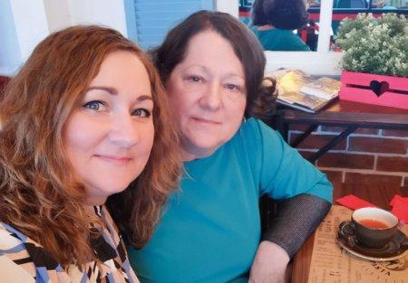 Селфи с мамой