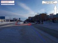 В Усинске женщина попала в больницу после аварии с внедорожником