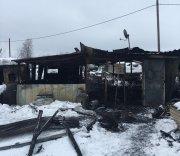 В Усинском районе на пожаре погибли два человека