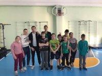 Воспитанники Детского дома Усинска сдали нормы ГТО
