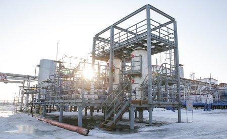 Адсорберы блока подготовки топливного газа