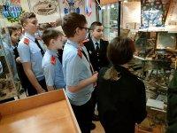 В Усинске кадеты полицейского кадетского класса посетили музей