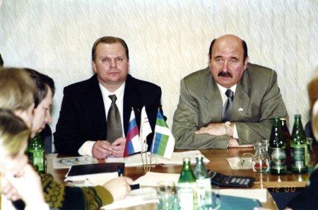 Александр Баранов (слева) и Владимир Зарубежнов