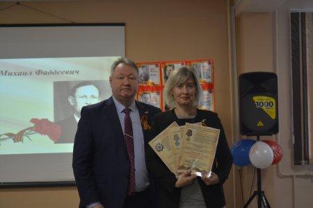 В Усинске вручили копии наградных документов в рамках реализации проекта «Герои Великой Победы»