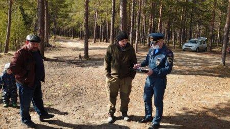 В Усинске продолжаются рейды по лесным массивам