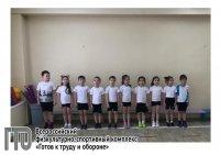 Усинские дошколята выполняют нормы ГТО
