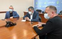 Спикер Госсовета РК Сергей Усачёв принял участие в оперштабе по ликвидации нефтеразлива