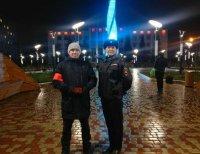Дежурство народных дружинников на улицах города Усинска