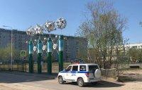 Возле школ в Усинске выставили полицейские патрули