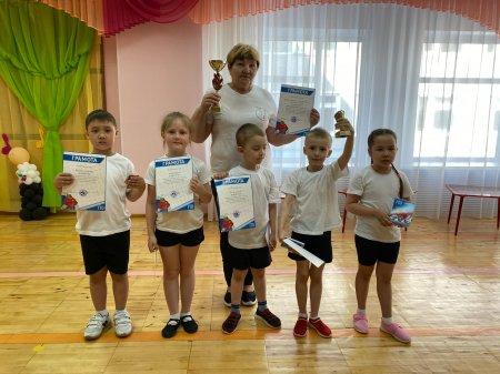 195 дошколят Усинска приняли участие в акции ГТО!