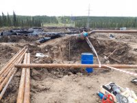 В месте попадания нефтепродуктов в Колву завершается зачистка